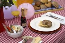 Verjaardags Champagne Ontbijt