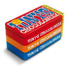 Tony Chocolonely Stapel Blik
